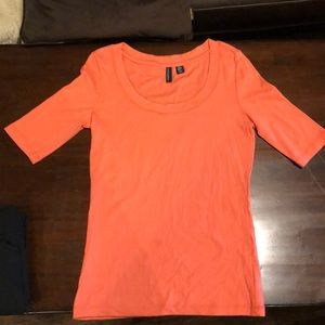 Cynthia Rowley corral 3/4 sleeve shirt